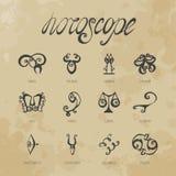 horoskop Lizenzfreie Stockbilder