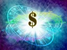 horoskop Fotografering för Bildbyråer
