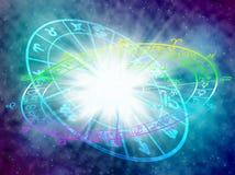 horoskop Royaltyfri Fotografi