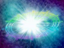 horoskop Arkivbilder