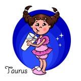 horoskop ilustracja wektor
