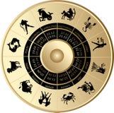 horoskop Arkivfoton