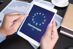 Horoskop astrologii zodiaka horoskopu zodiaka pomyślności znaka mitu St Zdjęcia Royalty Free