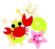Horoskop~Cancer~ royaltyfri illustrationer