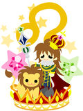 Horoskop ~Leo~ Stockfotografie