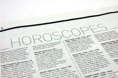 Horoskope Lizenzfreie Stockfotos