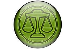 horoskoplibra Arkivbild