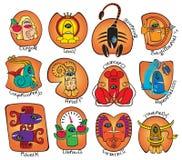 Horoskopmonster Stockbilder