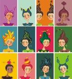 horoskopu ilustraci wektor Obrazy Royalty Free