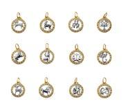 horoskopu symboli/lów zodiak Zdjęcie Royalty Free