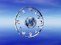 horoskopzodiac Arkivbild