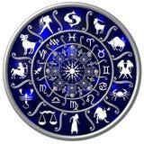 horoskopzodiac Arkivfoton