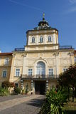 Horovice castle - front view Royalty Free Stock Photography