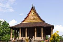 Horprakaew a Vientiane; Il Laos Fotografie Stock Libere da Diritti