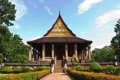 Horprakaew a Vientiane; Il Laos Fotografia Stock