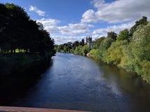 Horqueta del río Foto de archivo libre de regalías