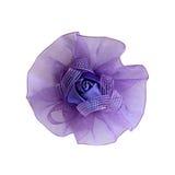 Horquilla del arco de los niños violetas para el pelo Fotografía de archivo libre de regalías
