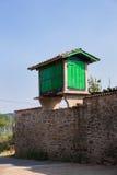 Horreo, χαρακτηριστικός ισπανικός σιτοβολώνας Στοκ φωτογραφία με δικαίωμα ελεύθερης χρήσης