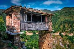 Horreo-cantabrico De Asturien lizenzfreies stockfoto
