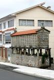 horreo Espagne du nord de grenier occidentale Image libre de droits