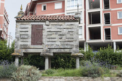 Horreo or granary in north west Spain Stock Images