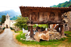 Horreo i Asturias Royaltyfri Bild