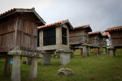 Horreo, for storage of foodstuffs Royalty Free Stock Photography