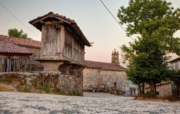 Horreo, typical spanish granary Stock Images