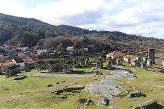 Horreos in Lindoso - Portugal Royalty-vrije Stock Afbeelding