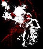 Horreur 01 Photo libre de droits