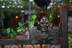 Horreur, concept de Halloween Images stock
