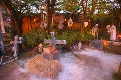 Horreur, concept de Halloween Photo stock