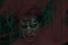 Horrible zombie man Stock Photo