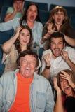 Horrified Audience Royalty Free Stock Image