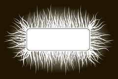 Horror background. Vector horror background or frame in graphic style Royalty Free Stock Images