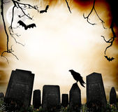 Horror background stock images