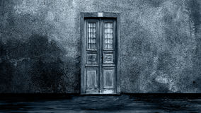 Horror background - the door Royalty Free Stock Image