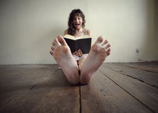 Horror book Stock Photos