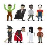 Horror characters vector Royalty Free Stock Photo