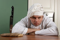 Horror chef Stock Photos