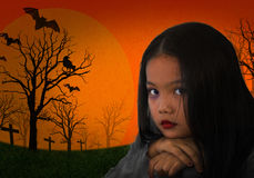 Horror children Royalty Free Stock Images