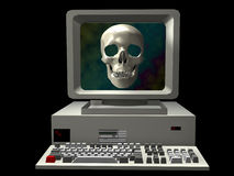 Horror Computer Stock Photography