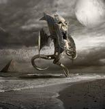 Horror del mar Foto de archivo libre de regalías