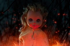 Horror doll. Stock Photos