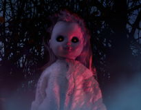 Horror doll. Stock Photography