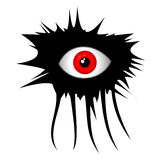 Horror eye Stock Photography