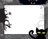 Horror frame for halloween Royalty Free Stock Images