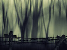 Horror Halloween Abstract  background. Stock Photography