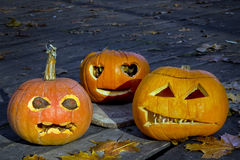 Horror of Halloween Royalty Free Stock Photography
