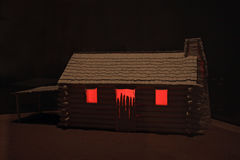 Horror house Stock Photo